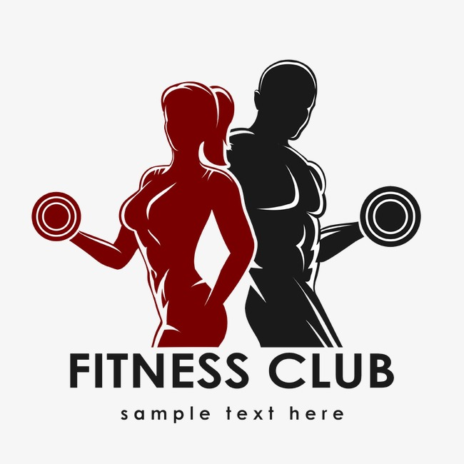 Gym clipart. Logo mark fitness png