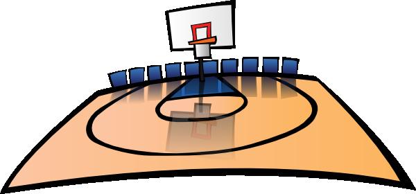 Gym clipart basketball gym. Cartoon court clip art