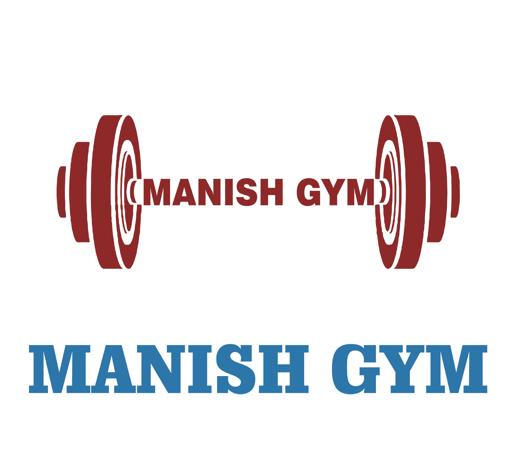 Gym clipart bold.  best logo creative