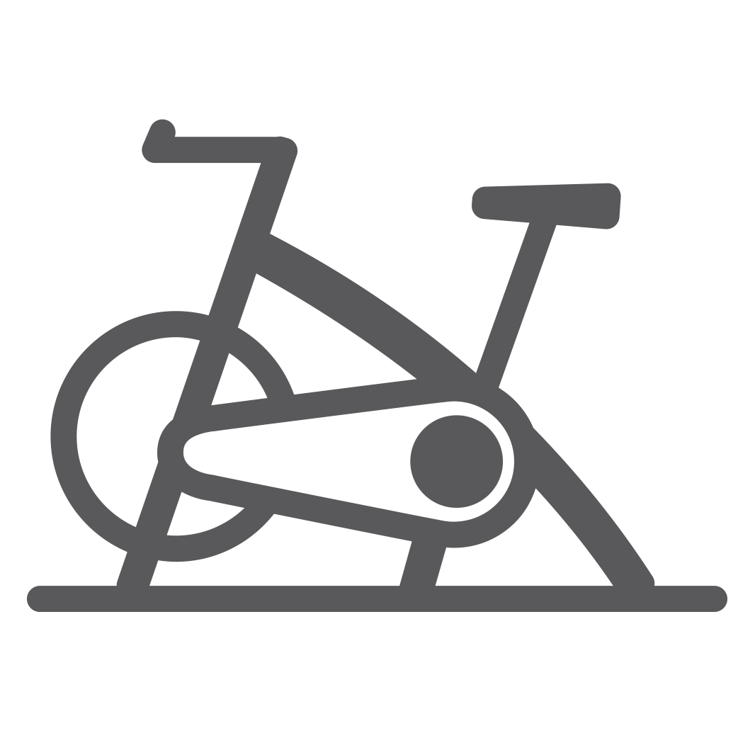 Gold s flanders located. Gym clipart cycling machine