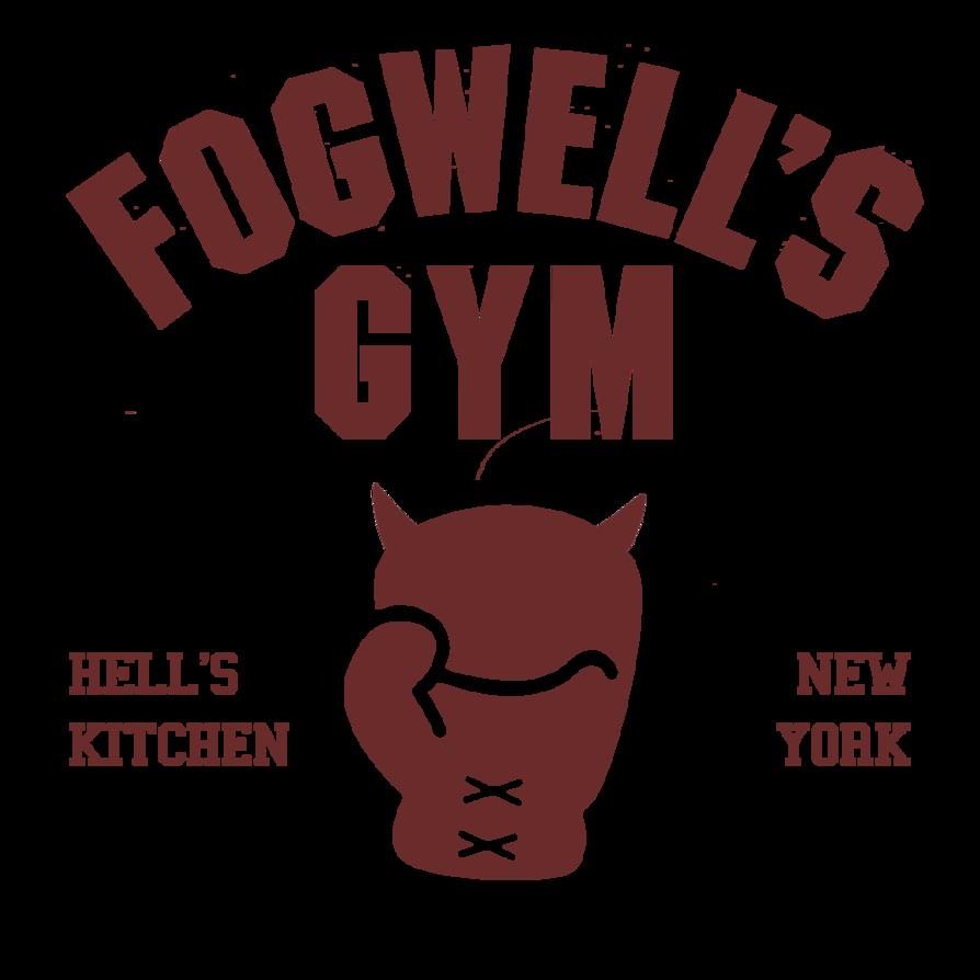 Gym clipart gym logo. Fogwell s by joesboredomdesign