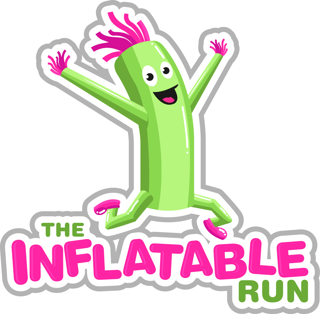 The inflatable run ocr. Mud clipart muddy road