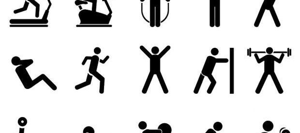 Pictures of fitness free. Gym clipart physical wellness
