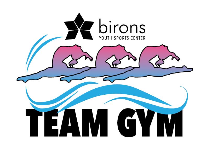 Birons team logo on. Gym clipart sport complex