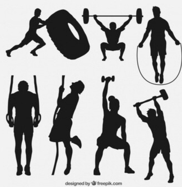Gym clipart strength and conditioning. Are there similarities in