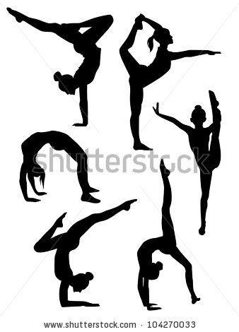 Cartoon clip art free. Gymnastics clipart dance cheer