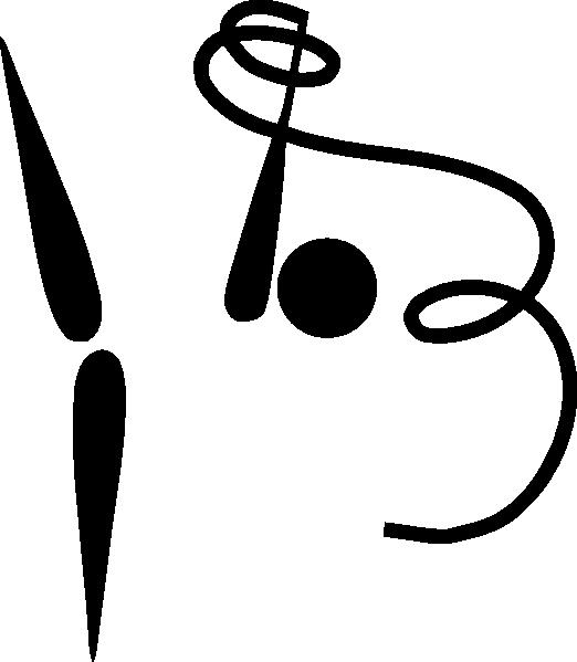Rhythmic logo clip art. Gymnast clipart olympic gymnastics