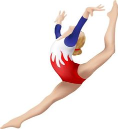 Gymnast clipart olympic gymnastics. Gymnastic pictures free download