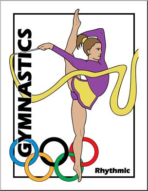 Gymnast clipart olympics gymnastics. Clip art summer event