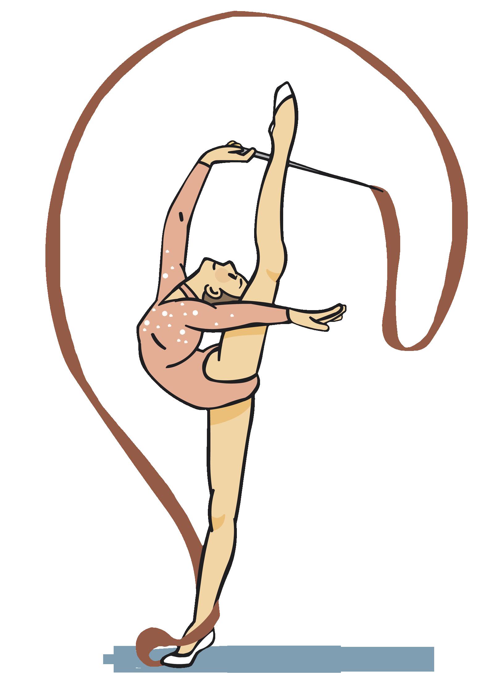 Gymnastics person balance