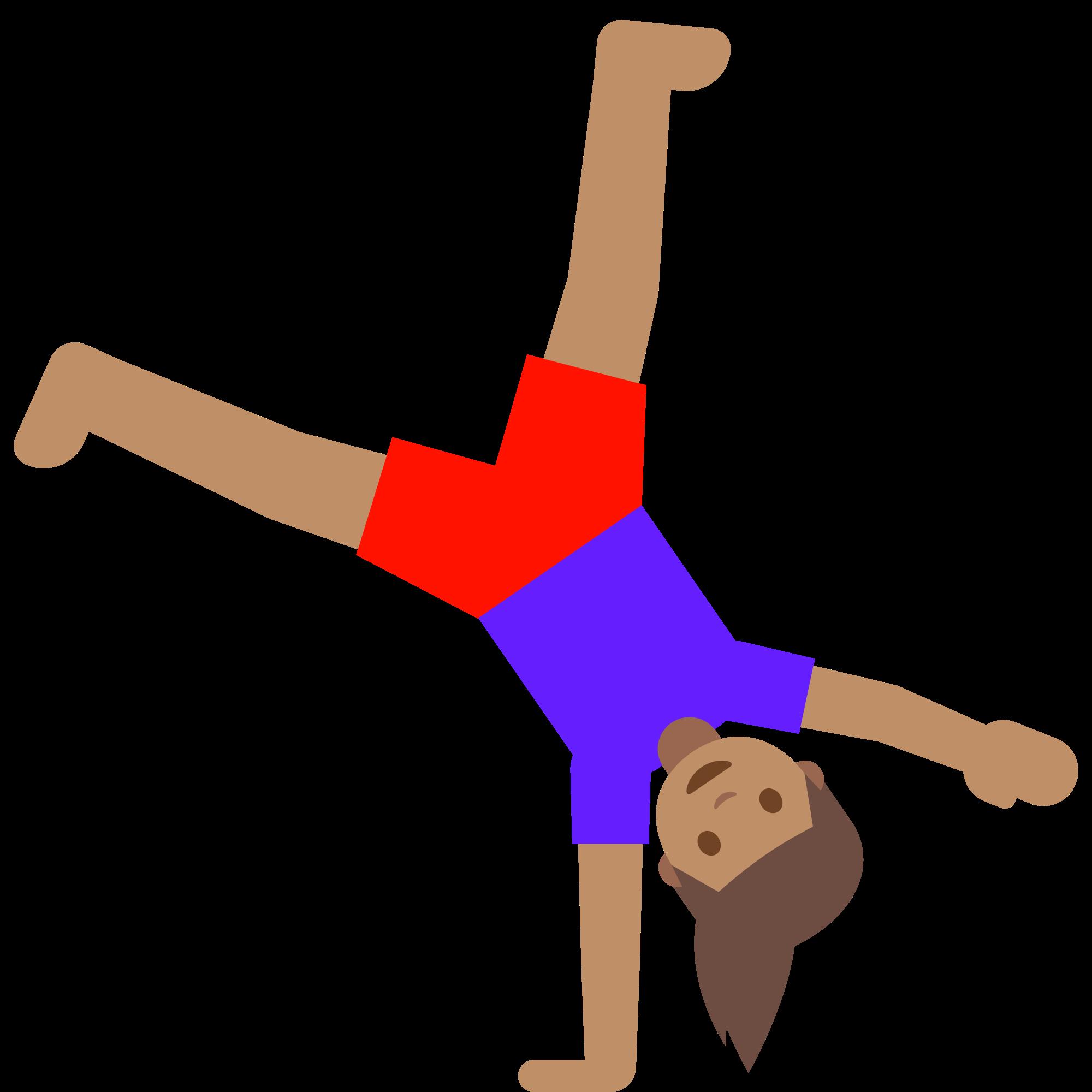 Moving clipart gymnast. File emoji u f