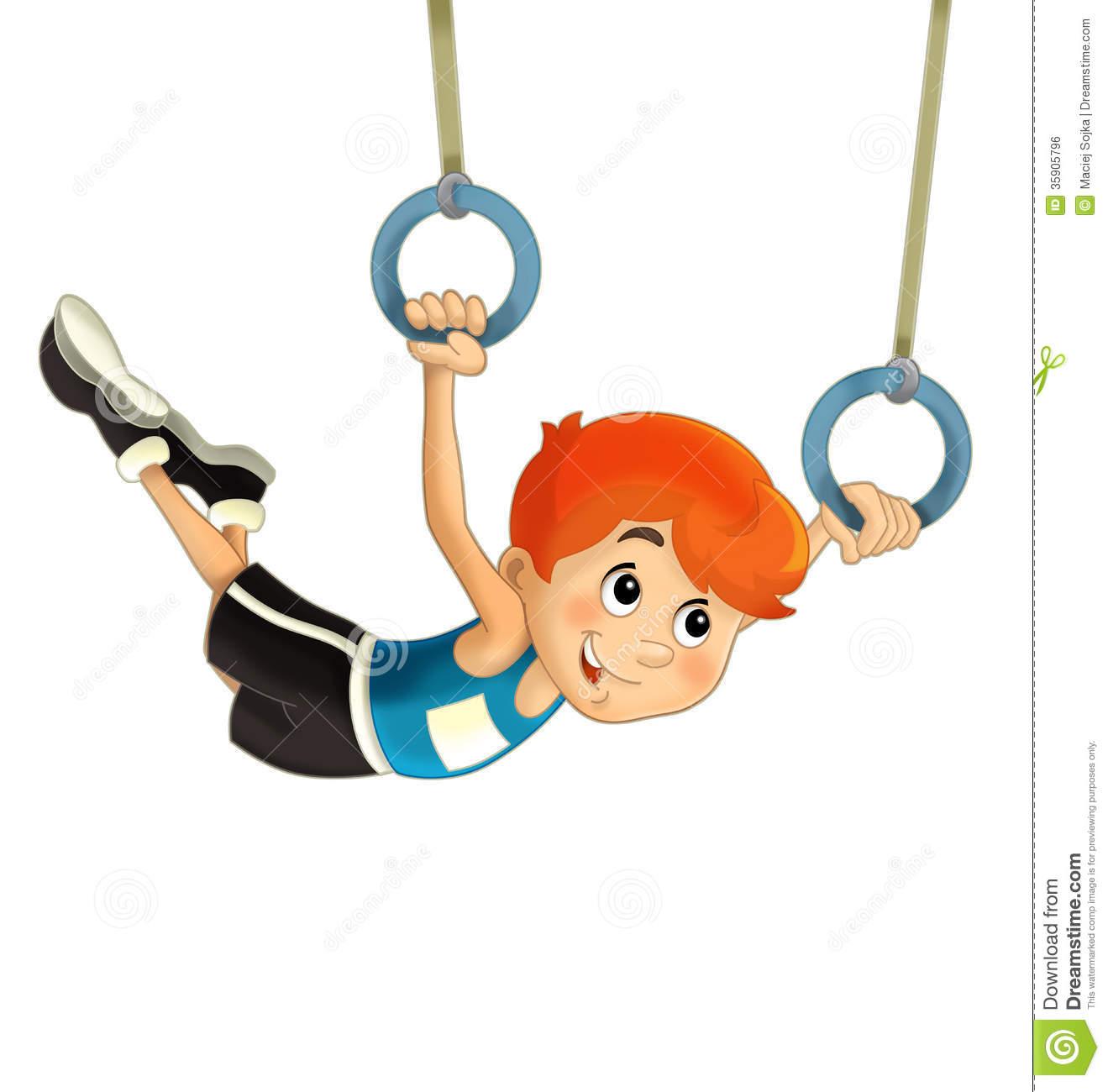 Gymnastics clipart animated. Cartoon gymnastic free download