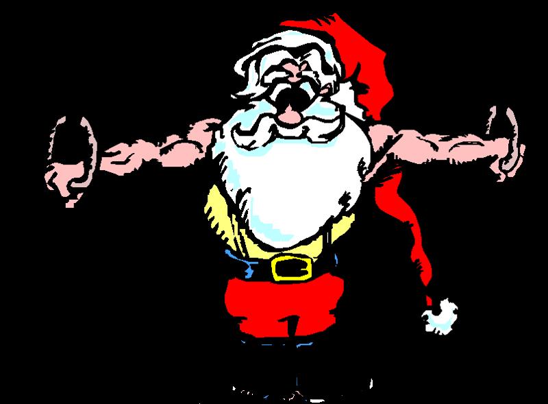 Gymnastics clipart iron cross.  png a santa