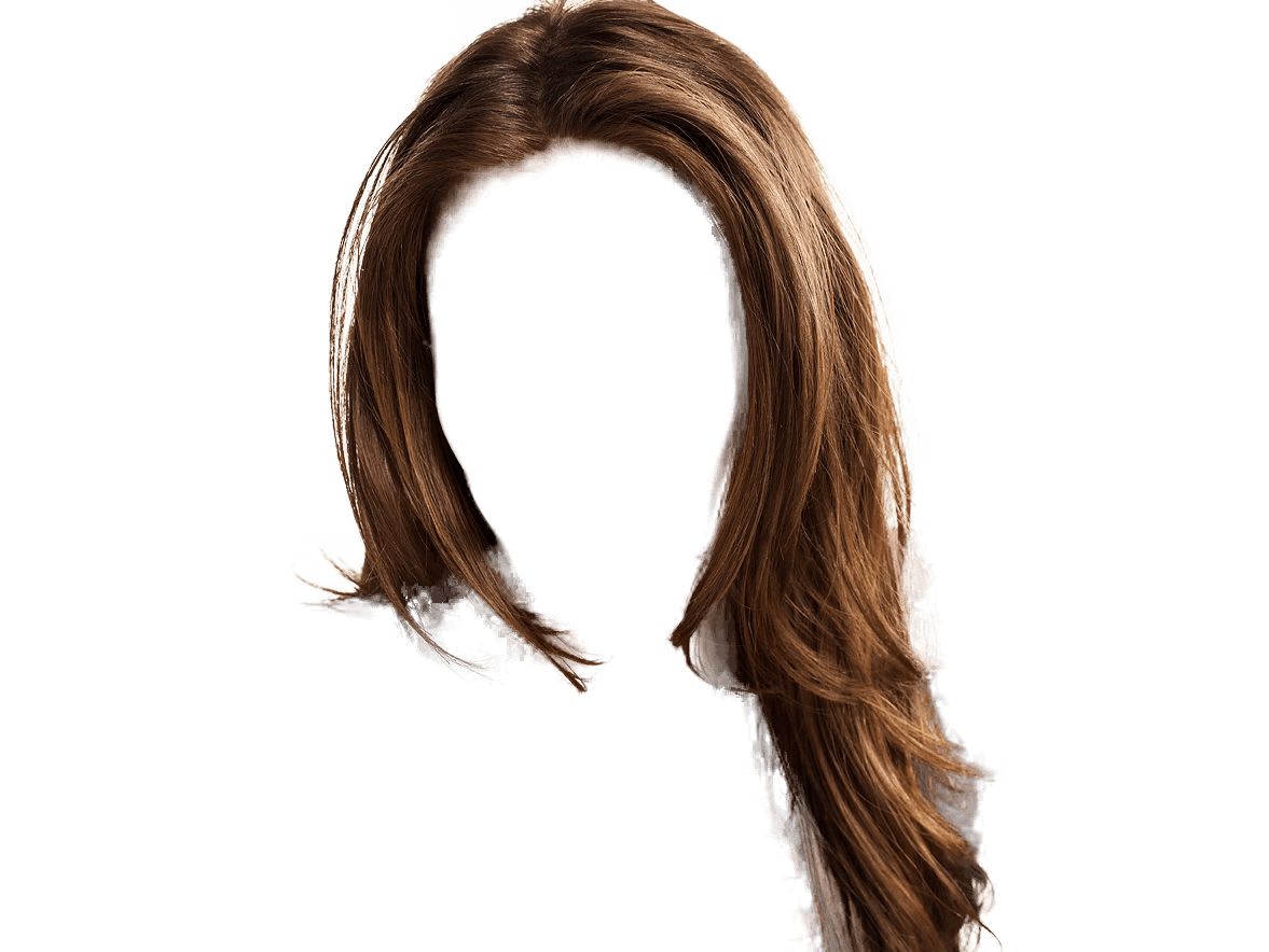 Hair clipart different hair.  women png image