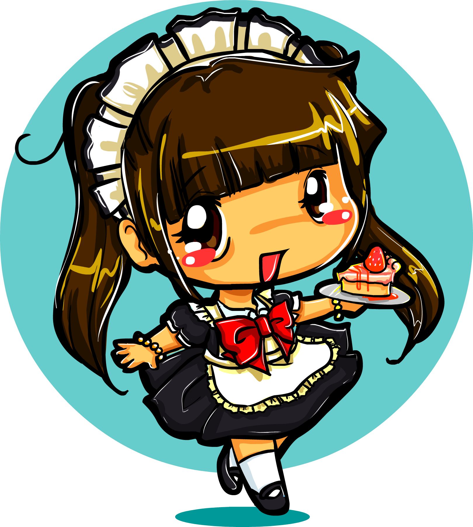 Waitress clipart maid. From geisha to caf