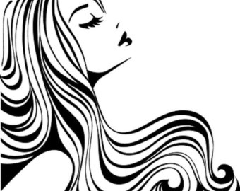 Hairdresser clipart nice hair. Free styling pictures download