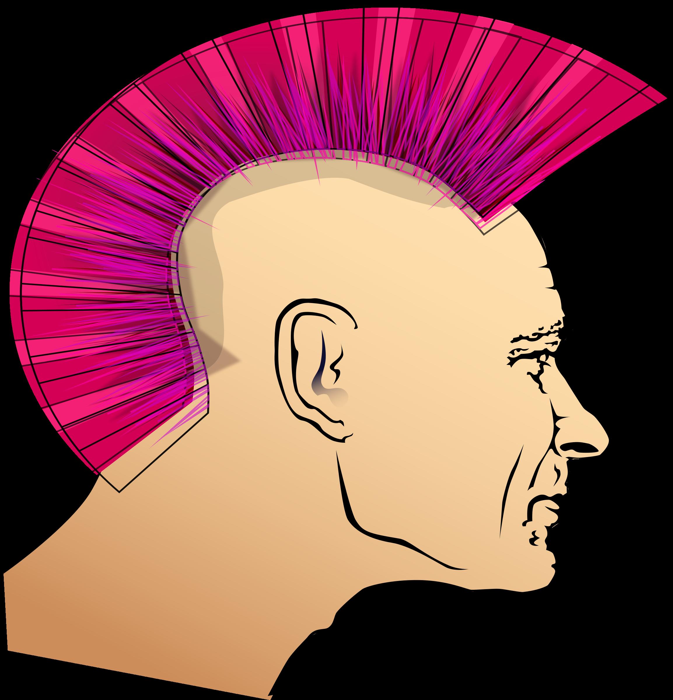 Man big image png. Hair clipart punk hair