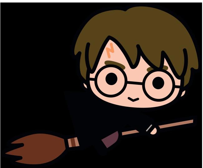 Harry potter kawaii hand. Hair clipart ron weasley