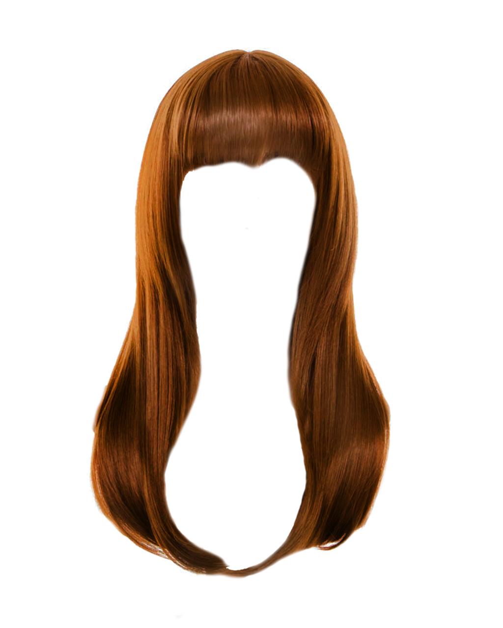Hair png files. Pink clipart brown wig
