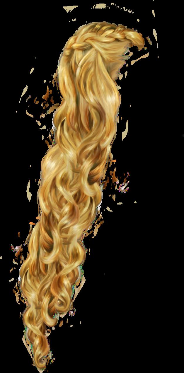 rapunzel clipart long hair #140473877