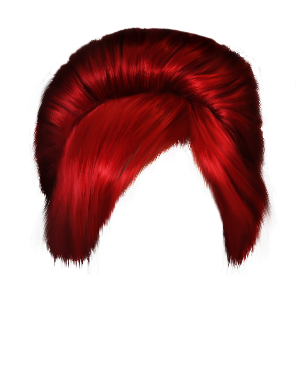 Women hair png image. Young clipart red headed