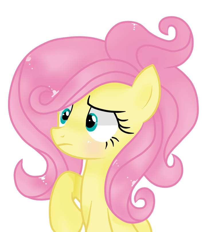 Windy clipart hair. Fluttershy by windymils on