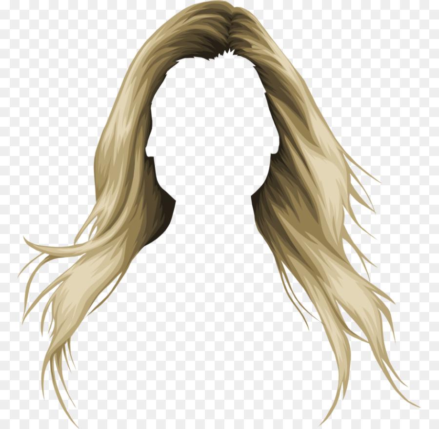 Hair clipart women's hair. Woman head transparent clip