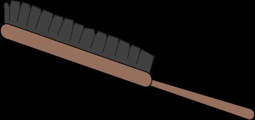 Brush clipart hair brush. Clip art image