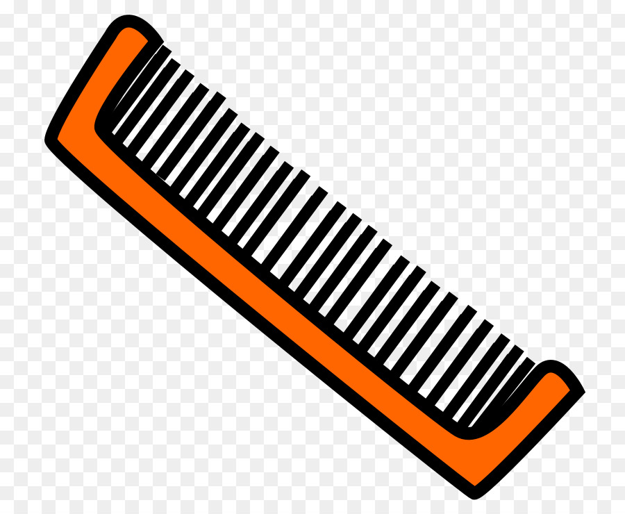 Brush clipart combs. Hair cartoon hairbrush barber