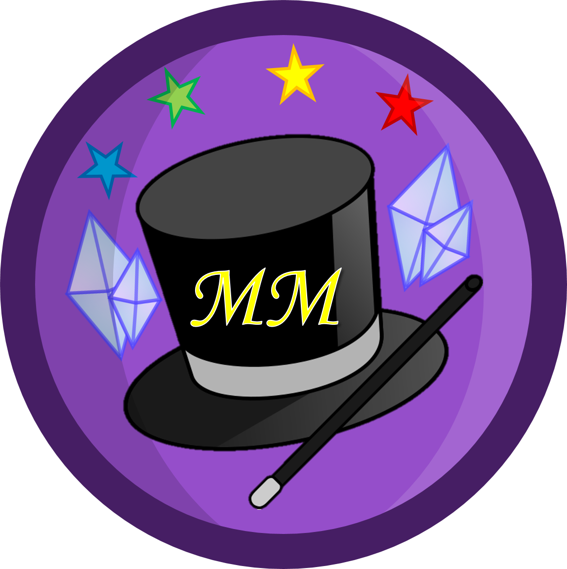 Mystifying magicians object adversity. Hairbrush clipart violet thing