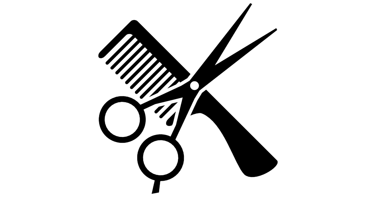 Haircut clipart. Group png images transparent
