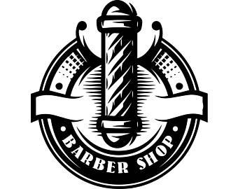 Etsy barbershop pole barber. Haircut clipart