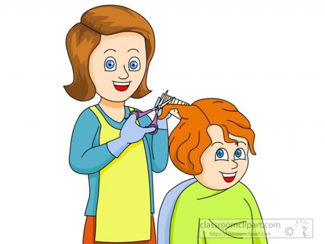Haircut clipart animated. Free download clip art