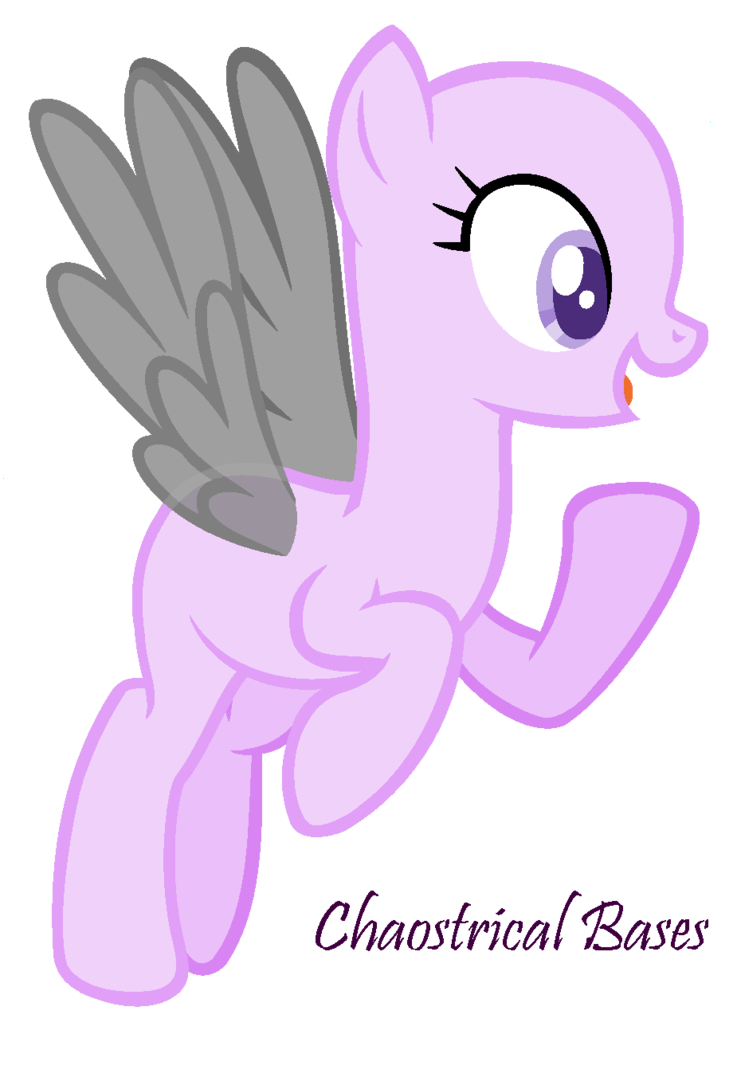 I mlp base happy. Neck clipart short haircut