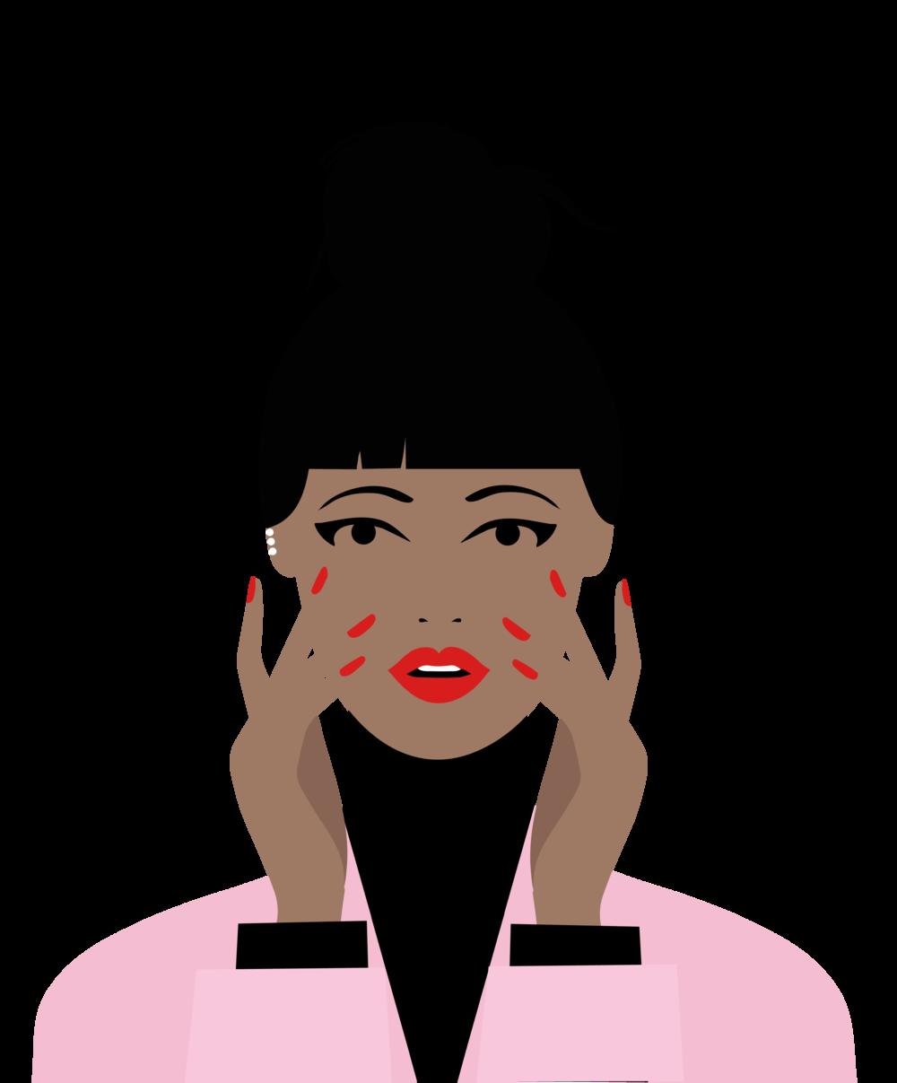 Nails clipart woman nail. Soho waxing beauty newbunspng