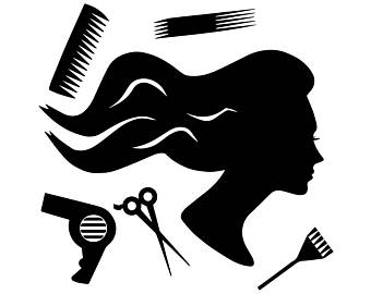 Beauty salon etsy hair. Hairdresser clipart