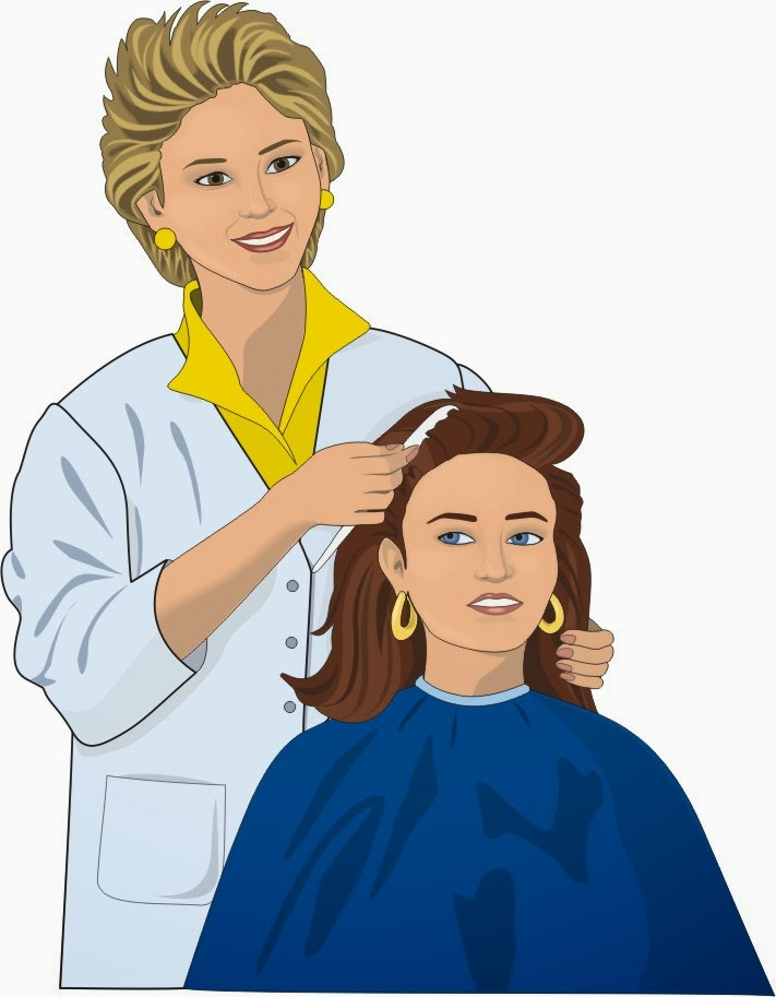 Station . Hairdresser clipart