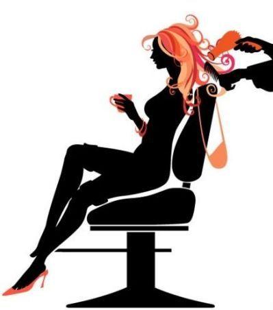 Beauty clipart hair stylist. Free salon blackertise glamour