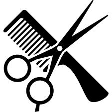 V sledok vyh ad. Hairdresser clipart