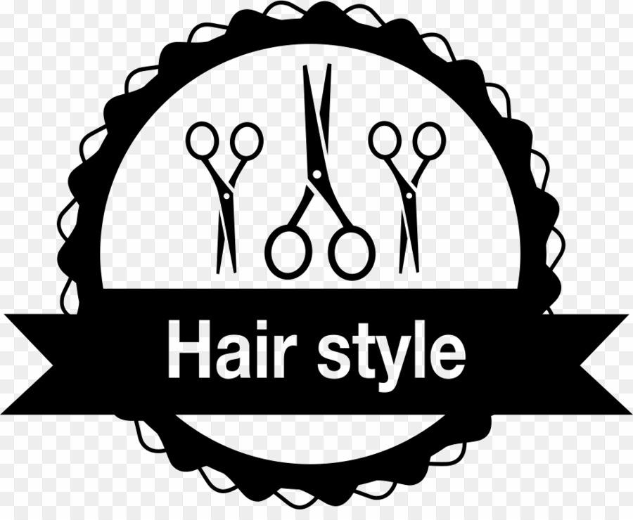 Scissors logo png parlour. Hairdresser clipart beauty salon