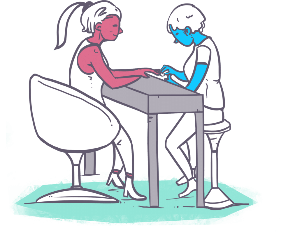 hairdresser clipart beauty therapy