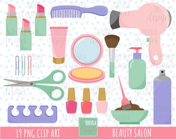 Beauty salon care . Hairdresser clipart hair stuff