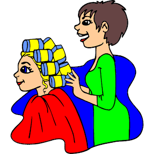 Free cliparts download clip. Hairdresser clipart nice hair