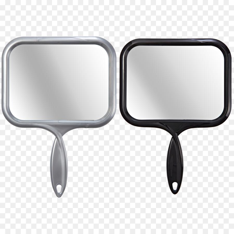 Hand cartoon rectangle . Hairdresser clipart salon mirror