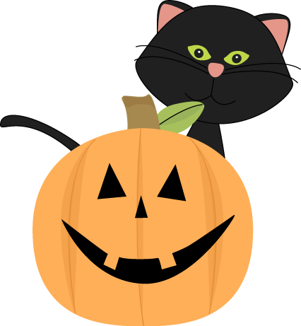 Clip art images black. Halloween clipart