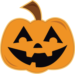 Free black and white. Clipart halloween fall