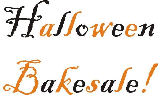 Halloween clipart bake sale. Make meme with