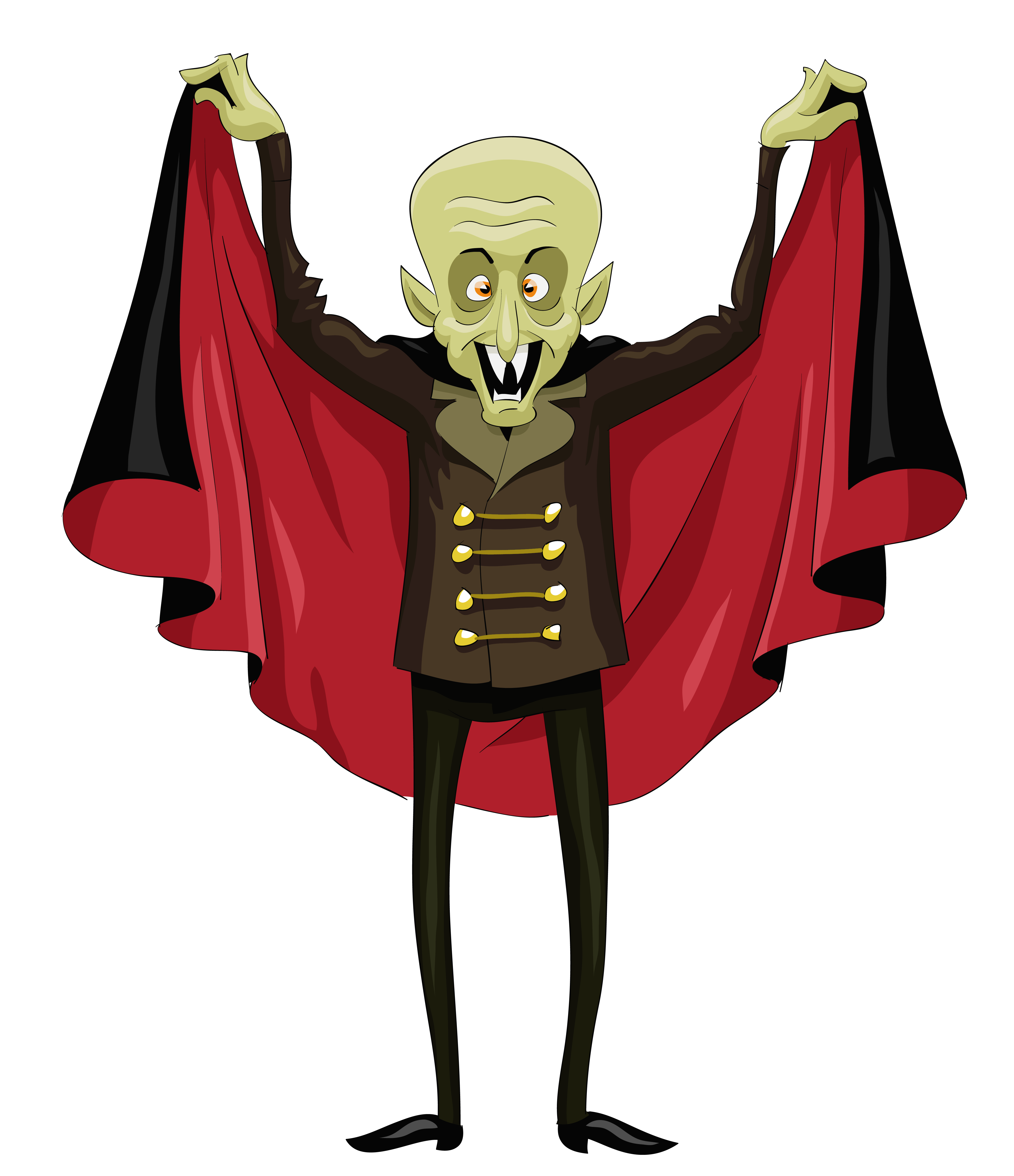 Halloween clipart character. Ugly vampire png gallery