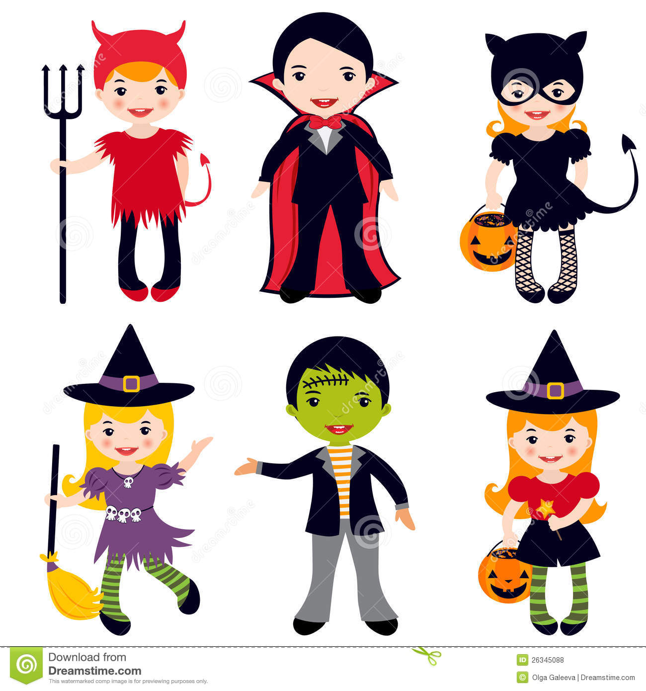 Characters free download best. Halloween clipart character
