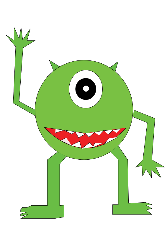 Free pictures of halloween. Water clipart monster